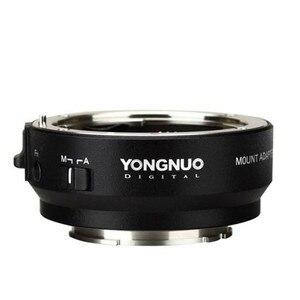 Image 1 - وصلة محول ذكية من YONGNUO YN EF E II لعدسة Canon EF EOS لكاميرا Sony NEX E Mount A9 A7 II A7RIII A7SII A6500