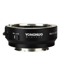 YONGNUO YN EF E II akıllı için montaj adaptörü Canon EF EOS Lens Sony NEX e montaj A9 A7 II a7RIII A7SII A6500 kamera