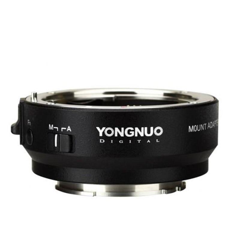 YONGNUO YN-EF-E II support adaptateur intelligent pour objectif Canon EF EOS à Sony NEX e-mount A9 A7 II A7RIII A7SII A6500 caméra
