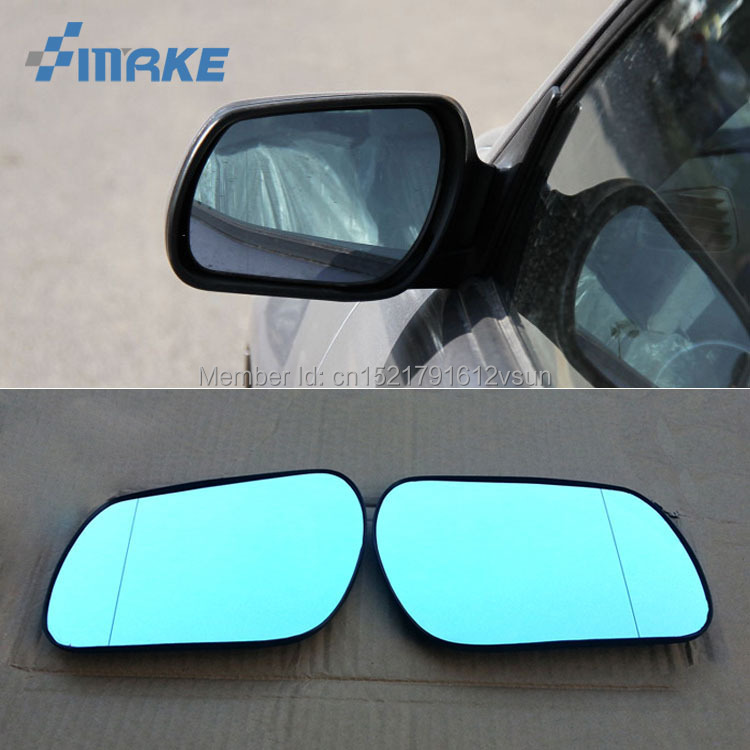 smRKE 2Pcs For Mazda 6 Rearview Mirror Blue Glasses Wide Angle Led Turn Signals light Power Heating