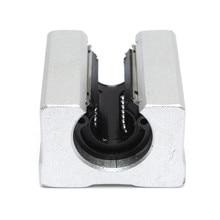 SBR12UU 12 мм Линейный Подшипник Блок Вал Открыть Линейный Router Motion Сталь Подшипника Solide Блок Направляющей