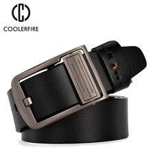 2019 men genuine leather luxury strap male belts for men buckle fancy vintage jeans cintos masculinos ceinture homme HQ018
