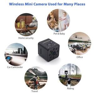 Image 5 - מיני מצלמה WiFi מצלמת SQ13 SQ23 SQ11 מלא HD 1080P מקורי ספורט DV מקליט 155 ראיית לילה קטן פעולה מצלמה מצלמת וידאו DVR