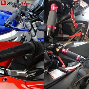 Image 2 - Motorrad Handschutz Griff Schutz Bremse Kupplung Hebel Protector Für Suzuki GSF 250 600S BANDIT GS 500E 500F GSXR 1000 1100