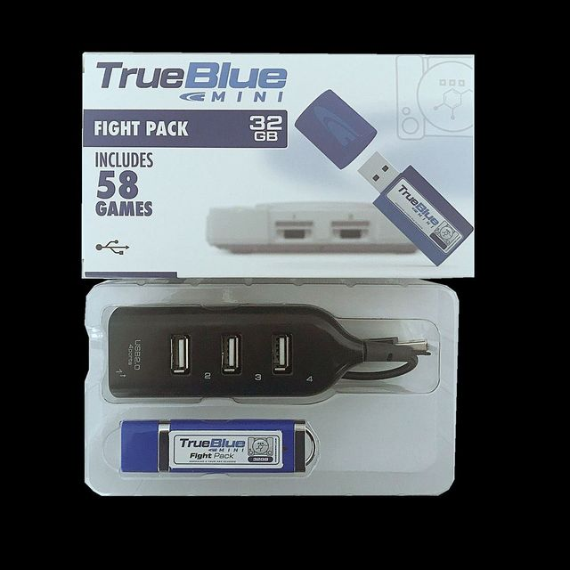true blue mini Fight Pack 32GB with 58 games/METH PACK 64gb with 101 games/CRACKHEAD PACK 64GB with 101 games for ps1 consolePuzzles & Games