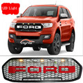 2016 For Ford Everest Grill ABS Black Front Grill surrounds trim suitable Ford Everest endeavour grills cover
