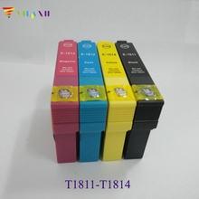 Vilaxh 1 zestaw T1811 atrament kartridż do epson xp202 XP225 XP212 XP215 XP312 XP315 XP412 XP415 XP322 XP325 XP422 XP305 XP402 XP405