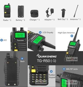 Image 5 - Ham Radio for Hunting UV R50 2 Quansheng 5W Dual Band VHF UHF 136 174Mhz/400 520Mhz Walkie Talkie UV R50( 1) Baofeng UV 82 UV 5R