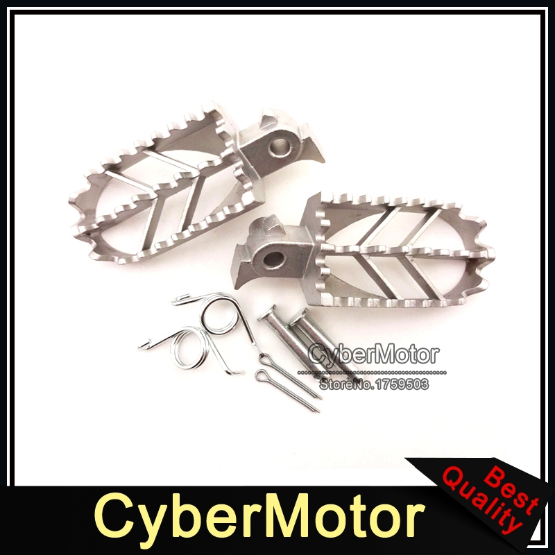 Motorcycle Stainless Steel Motorcycle Footpegs Foot Rest Pegs For CRF50 XR50 XRF70 CRF70 Pit Dirt Motor Trail Bike Motocross 428h chain rear sprocket 37 tooth 58mm diameter for crf50 xr50 dirt pit bike motorcycle motocross 428 gear fit 10inch rear wheel
