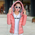 wadded jacket female 2016 autumn and winter jacket women slim short cotton-padded jacket outerwear winter coat women  JN708