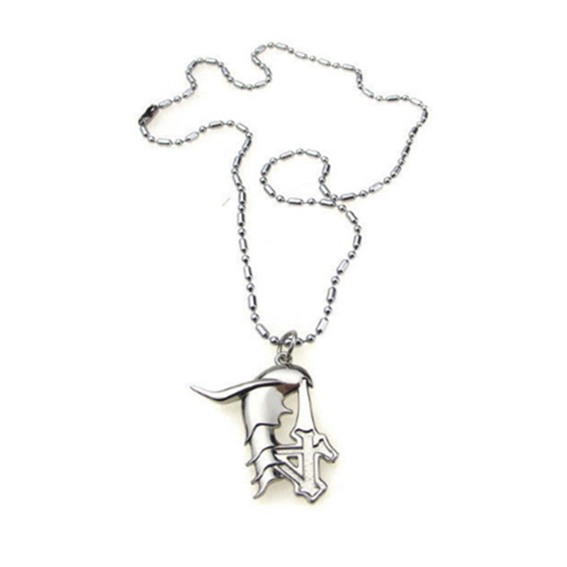 Janpanese Anime Necklace Bleach Ulquiorra Cifer 4th Blade Hollow Model Toy Pendant Gift Collection Accessories