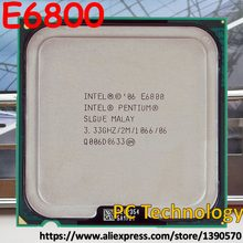 Processador intel pentium original e6800 (2m cache, 3.33ghz, 1066mhz) lga775 cpu desktop frete grátis envio fora within1 dia
