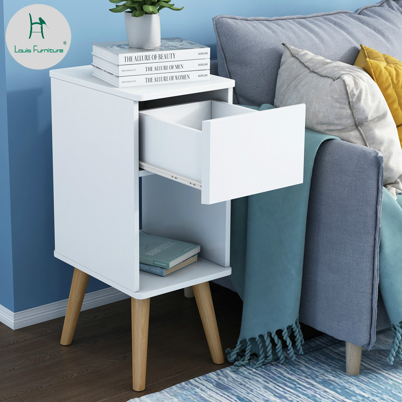 Louis Fashion Nightstands Small Nordic