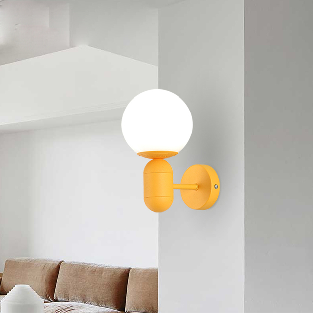 Exceptional Modern Colorful LED Wall Lamp Kids Bedroom Bedside Wall Light Decoration  Wall Lamps For Living Room Amazing Design