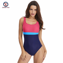 CHING YUN 2019 New One-piece swimsuit Hot European & American Swimsuit Sexy Female Triangle Movement Striped Swimming suit 18111