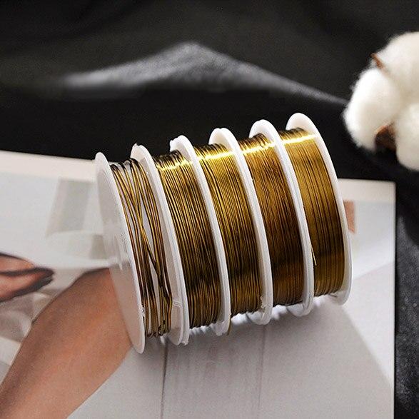 Brass Round Wire 2.0mm 5m Pack