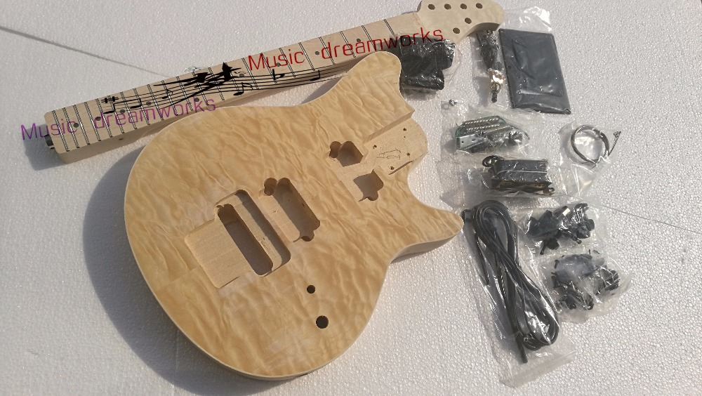 China OEM firehawk shop OLP Electric Guitar Semi-finished guitar, unfinished, personal DIY image