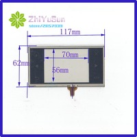 TR4 048F 15 4.8 inch touch screen General touch screen 117 * 62mm A new GPS't a Mp5 MP4 4 wire resistive touch screens