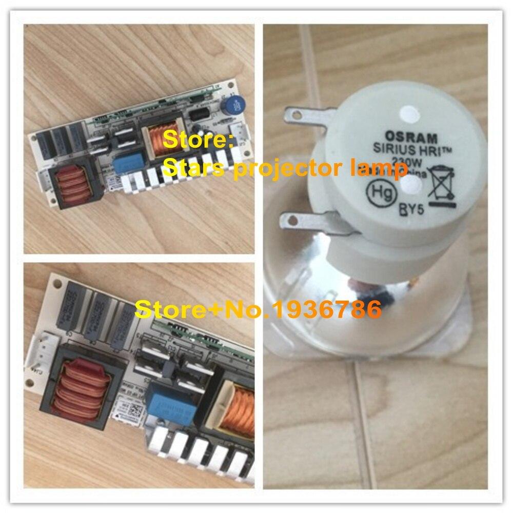 все цены на  Original Osram 230W ballast +Original 7R OSRAM SIRIUS HRI 230W beam lamp stage light bulb 1pcs/lot  онлайн