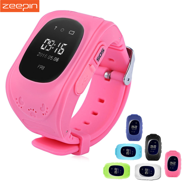 Zeepin Q50 Smart Telephone Watch Kids GPS SOS Call Locator Track Anti-Lost Baby Safe Monitor OLED LCD for iOS Android Russian