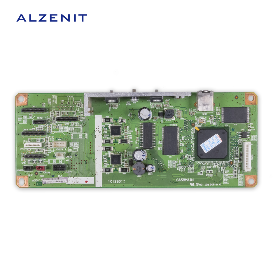 ALZENIT For Epson L1300 1300 Original Used Formatter Board Printer Parts On Sale brand new inkjet printer spare parts konica 512 head board carriage board for sale