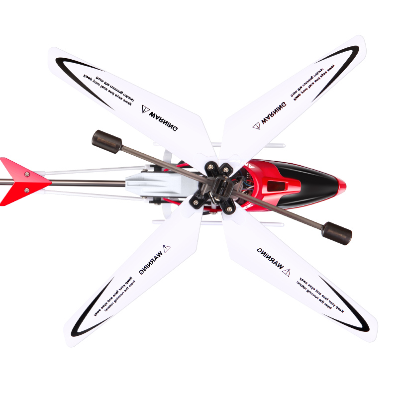 Image 3 - Syma W25 Mini RC Helicopter Aircraft Radio Remote Control Helicopter with Flashing LED Night Light Toys For Boy Gift-in RC Helicopters from Toys & Hobbies