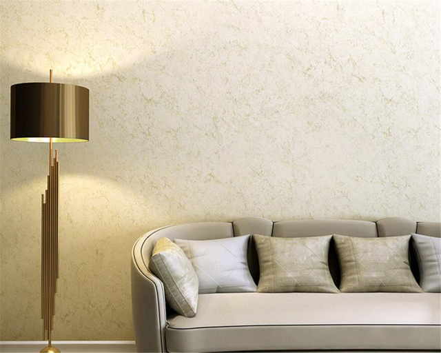 Beibehang Wall Paper Home Decor Plain Wallpaper American Retro Living Room Background 3D Beige Brown