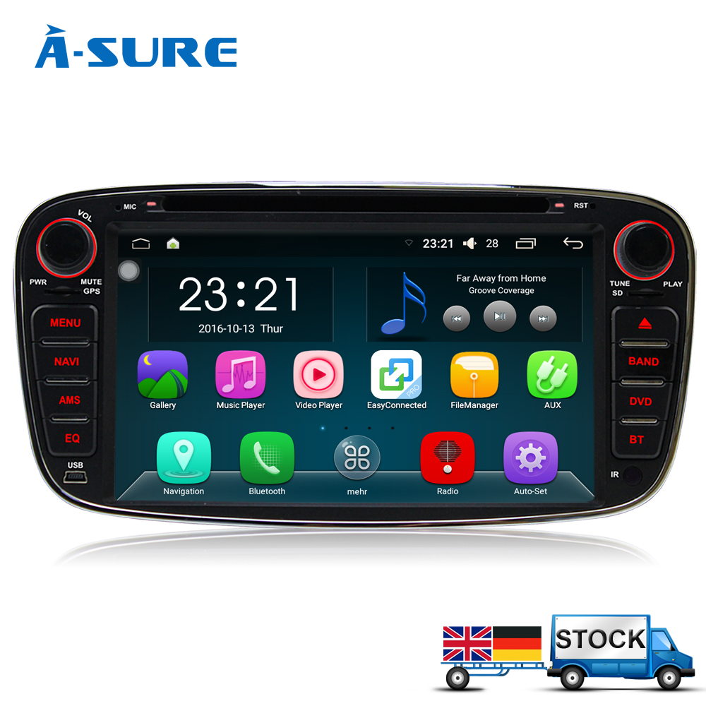 a sure dab android 6 0 cd dvd radio player navi gps for. Black Bedroom Furniture Sets. Home Design Ideas