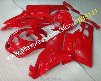 ABS fairing For Ducati 749 999 2003 2004 749s 999 03 04 full red motorbike aftermarket kit cowling (Injection molding)