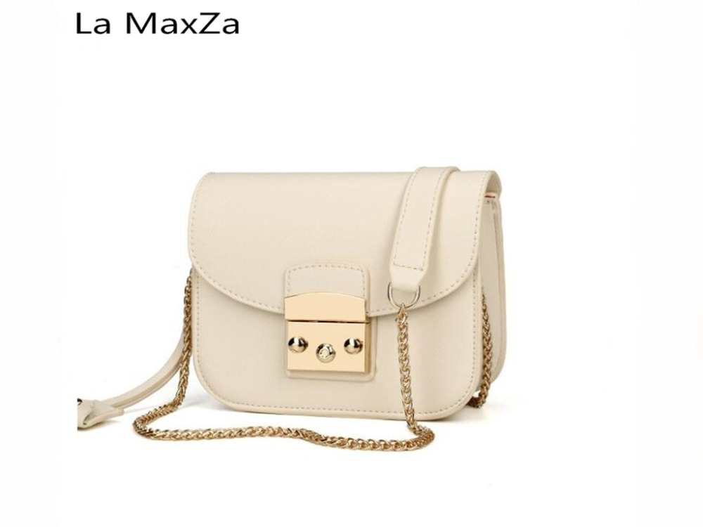 La MaxZa 2018 new hot fashion atmosphere package wild beautiful shoulder bag