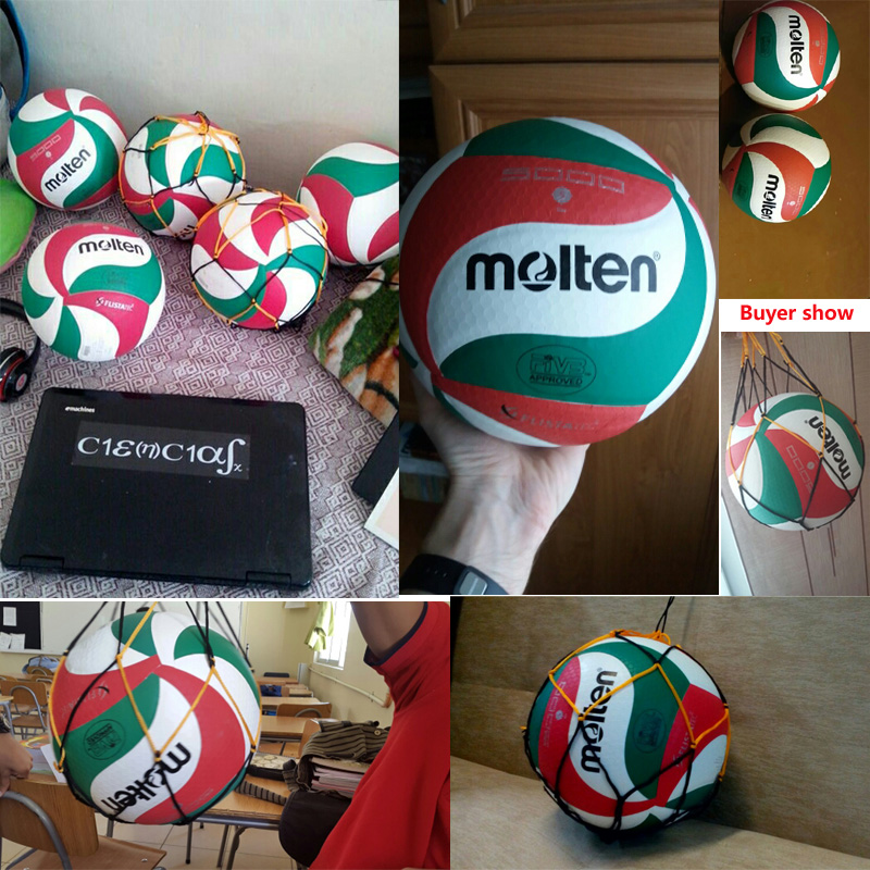 Hot sales 2018 New Brand Soft Touch Volleyball ball, VSM5000, Size5 match quality Volleyball Free With Net Bag+ Needle