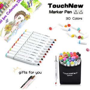 Image 2 - TOUCHNEW 30 40 Color Pen Professional Superior Artist Quality Double ended Permanent art Marker Pen Comic Drawing Art Projects