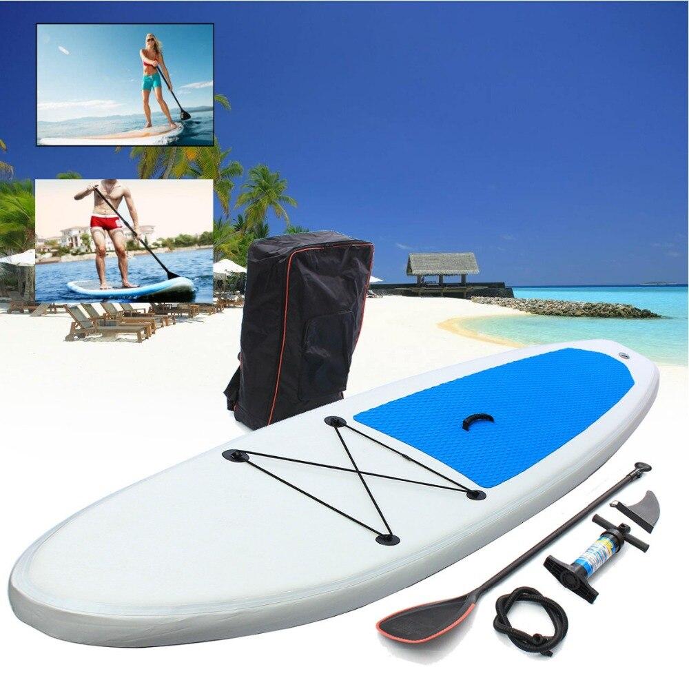 Gofun 310*68.5*10 cm Stand Up Paddle Planche De Surf Gonflable Conseil SUP Ensemble Wave Rider + Pompe gonflable planche de surf paddle bateau