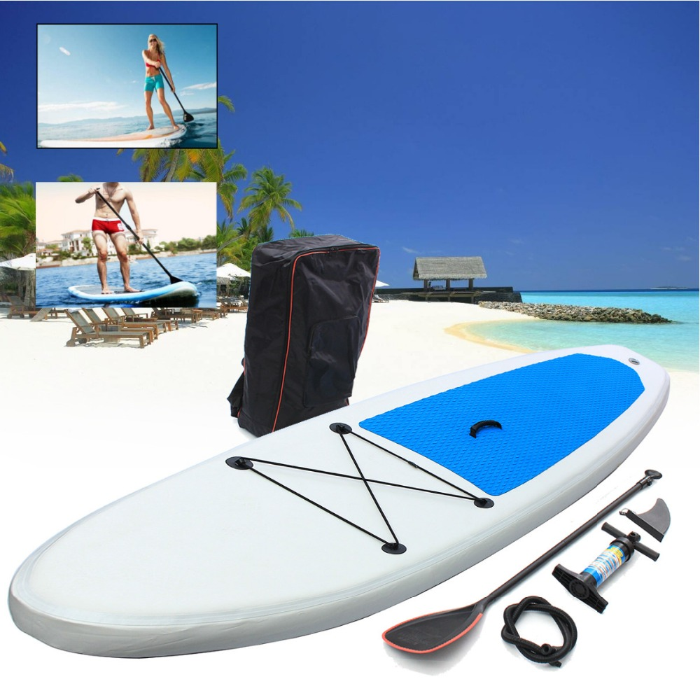 Gofun 310*68.5*10cm Stand Up Paddle Surfboard Inflatable Board SUP Set Wave Rider + Pump inflatable surf board paddle boat shoulder bag carry bag for inflatable boat kayak sup board stand up paddle surfing board pump oar dinghy raft surf board a05011