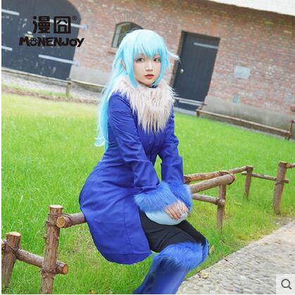 2018 NEW!!! Anime That Time I Got Reincarnated As A Slime Rimuru Tempest Uniforms Cosplay Costume Free Shipping