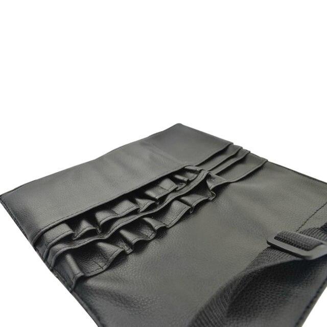 ebf4559ac0fb 1pc Professional PU Makeup Brushes Apron Bag Artist Belt Strap Black 22  Pockets Make Up Brushes Case Organizer Cosmetic Tool-in Eye Shadow  Applicator ...