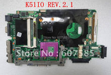 Hot! K51IO Laptop Motherboard Use For ASUS DDR2 Good Condition Free Shipping