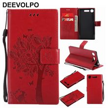 Tree Phone Bags Leather For Sony X Performance XA Ultra C6 XA1 XA2 XA3 Z6 E4 E5 E6 L1 L2 XZ3 XZ4 XZ1 XZ2 Premium Compact XZ P06Z silicone cases for sony xperia xz3 xz2 xz1 xz x premium compact mini case sony xa2 xa1 xa l2 z6 l1 e5 c6 c5 ultra plus cover