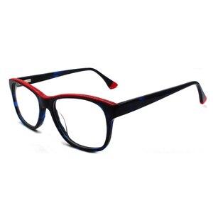 Image 2 - HOTOCHKI جديد جودة عالية البصرية للجنسين كبيرة أنيقة نظارات نظارات بمادة الخلات إطارات الرجال النساء موضة صندوق كبير النظارات الإطار