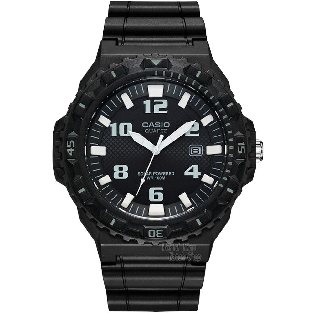 ФОТО Casio watch Solar fashion waterproof sports pointer men's watches MRW-S300H-1B MRW-S300H-1B3
