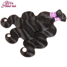 Mixed Length Brazilian Virgin Hair Bulk Hair For Braiding Body Wave Human Hair For Braiding Bulk No Attachment & Weft Braids