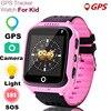 MOCRUX Q528 GPS חכם שעון עם מצלמה פנס תינוק שעון SOS שיחת מיקום מכשיר גשש לילד בטוח PK Q100 q90 Q60 Q50-בשעונים חכמים מתוך מוצרי אלקטרוניקה לצרכנים באתר