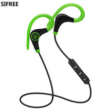 Hot Bluetooth 4.1 Sport Earphone Handfree Wireless Headset Earphones with Mic Sports music Ear-hook for Ios Android Phone NEW