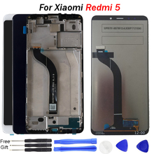 For Xiaomi Redmi 5 LCD Display Digitizer Touch Screen Assembly Frame 5.7 inch lcd Replacement Repair tools for Redmi 5 Display стоимость