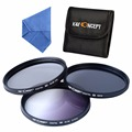 67mm Graduated Grey ND4 CPL Polarizing Filter Kit For Canon Rebel/ EOS T4i T3i T3 1100D 1000D Nikon with Other Accessories
