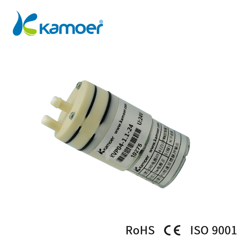 Kamoer KVP04 12V/24Vminiature diaphragm vaccum pump electric air pump with low flow rate 1.1L/min and low noise
