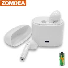 ZOMOEA Newest Twins True Wireless Earbuds Mini bluetooth earphone In-Ear Stereo headset TWS Wireless Earphones Headphones
