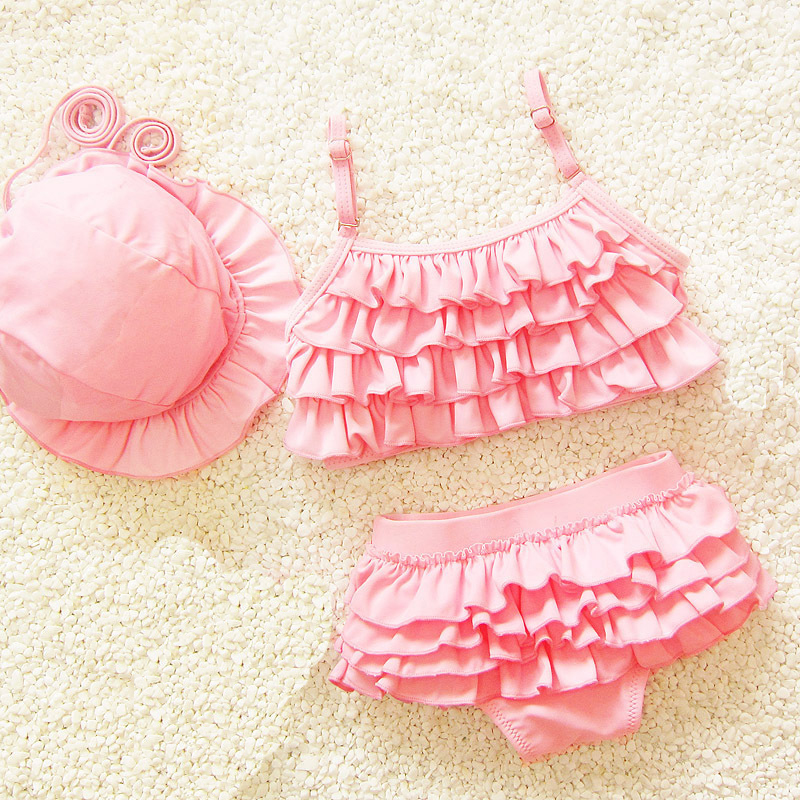 Kids Swimwear 3pcs Girl Bikini Suits 2020 Summer Girls Swimsuit Swimming Beach Wear Swimwear For Girls Swim Wear