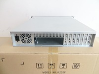 2U computer case industrial control chassis server chassis NAS chassis 550 deep PC power supply ATX size board