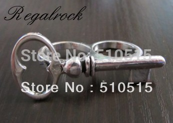 Regalrock Fashion Key Double Finger Ring